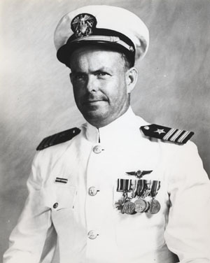 Commander Raphael Semmes, Jr. Photographed 12 September 1955. Photographic Section, Naval History and Heritage Command, #80-G-683828.