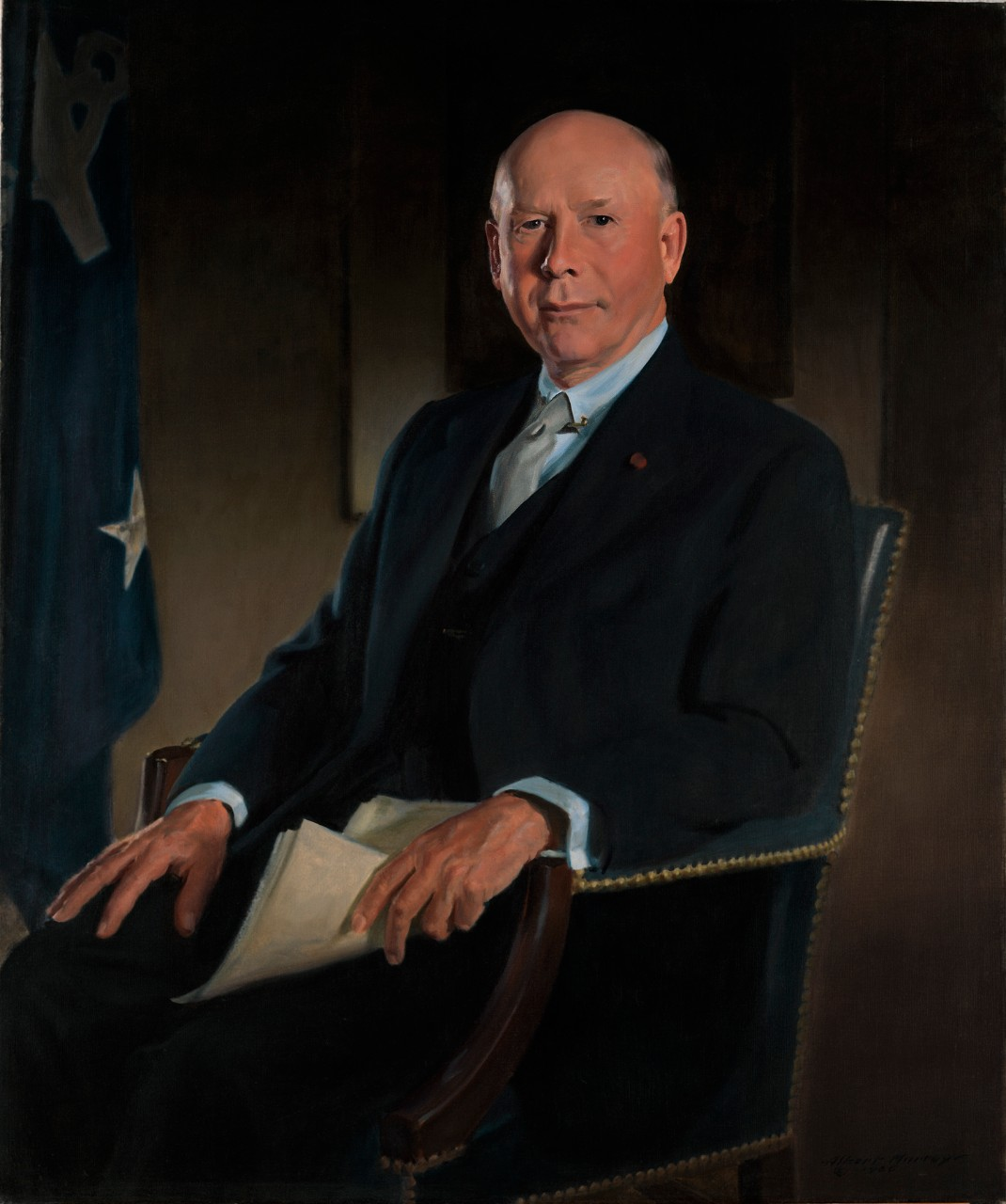 Portrait of Secretary of the Navy Charles Sparks Thomas