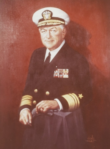 Vice Admiral H. A. Yeager, USN