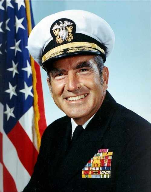 navy portrait of Admiral Zumwalt