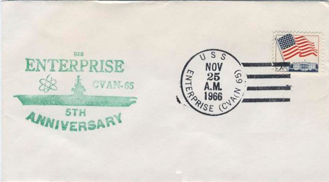 Examples of Ship Postal Covers in the Navy Department Library