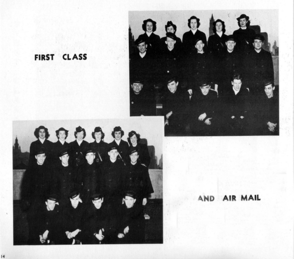 """First Class and Air Mail"" photos"