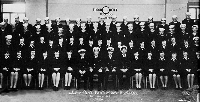 Merchant Marine Section group photo