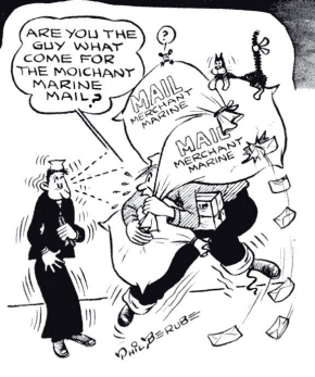 Merchant Marine cartoon