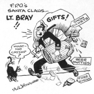 """FPO's Santa Claus"" cartoon"