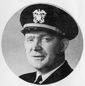 LT. COMDR. WILLIAM T. MARTIN, U.S.N.R., District Postal Officer