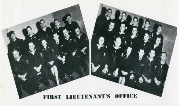 First Lieutenant's Office group photos