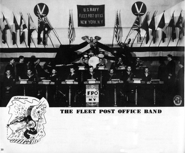 Fleet Post Office Band group photo