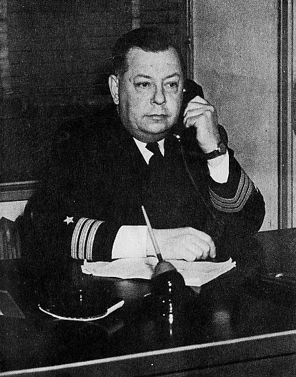 COMDR. VERNER A. HENDRICSON, U.S.N.R., Assistant District Communications Officer