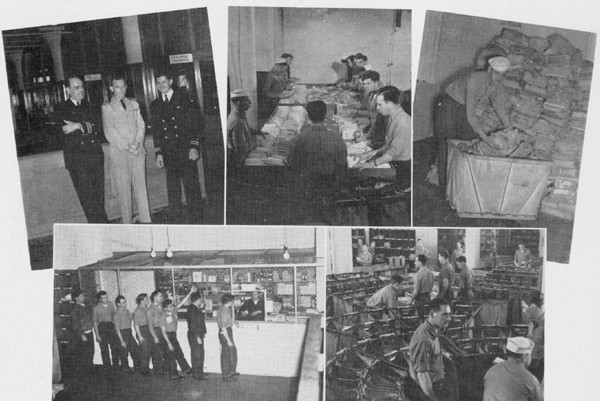 Candid photos of the Armed Guard and Merchant Marines
