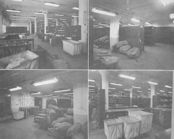 Photos of the Fleet Post Office interior