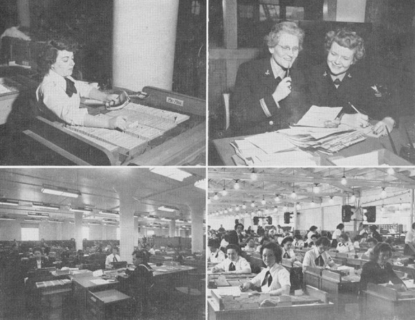 Photos of the Fleet Records Office