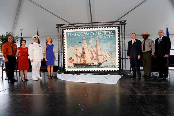 USS Constitution The War of 1812 Commemoration Stamp