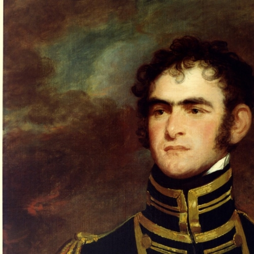 Painting of Commodore John Rodgers by unknown artist, courtesy of Mrs. Robert Giles., Naval Historical Center Photographic Section #KN-13109