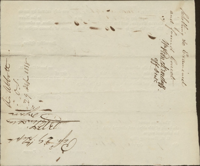 Abbott, Andrew Pay record 1838_back