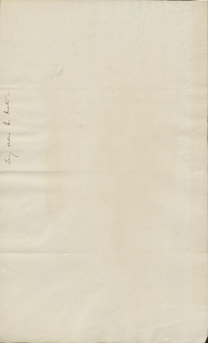 Abbott, David M - Letter to Commodore W Radford 1865_back