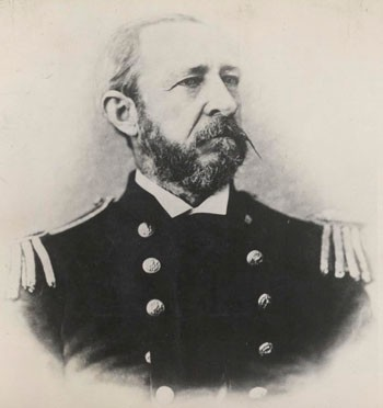 Image of Rear Admiral Daniel Ammen. Photographic Section, Naval History and Heritage Command. Photo #: NH000177.