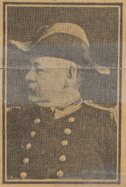 Image of Captain Bates from unidentified newspaper clipping obituary.