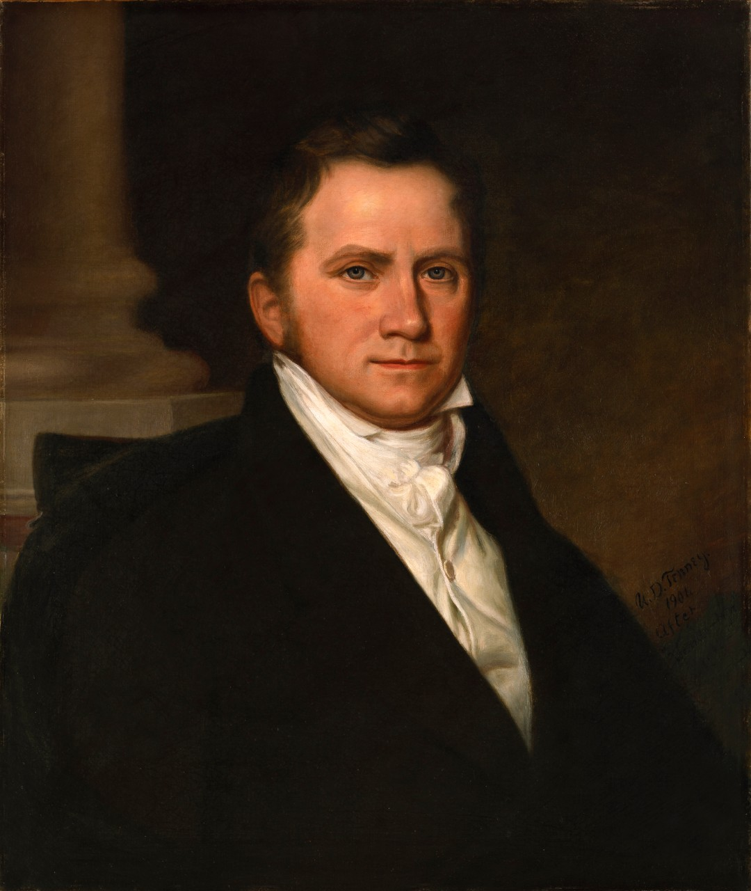 Portrait of Secretary of the Navy Benjamin Williams Crowninshield