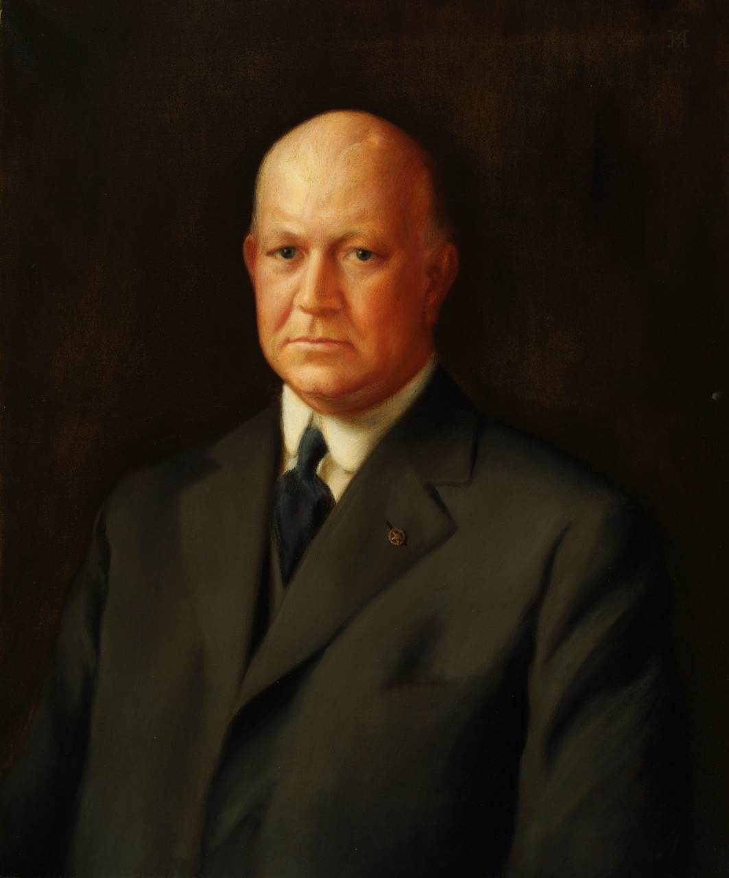 Portrait of Secretary of the Navy Edwin Denby