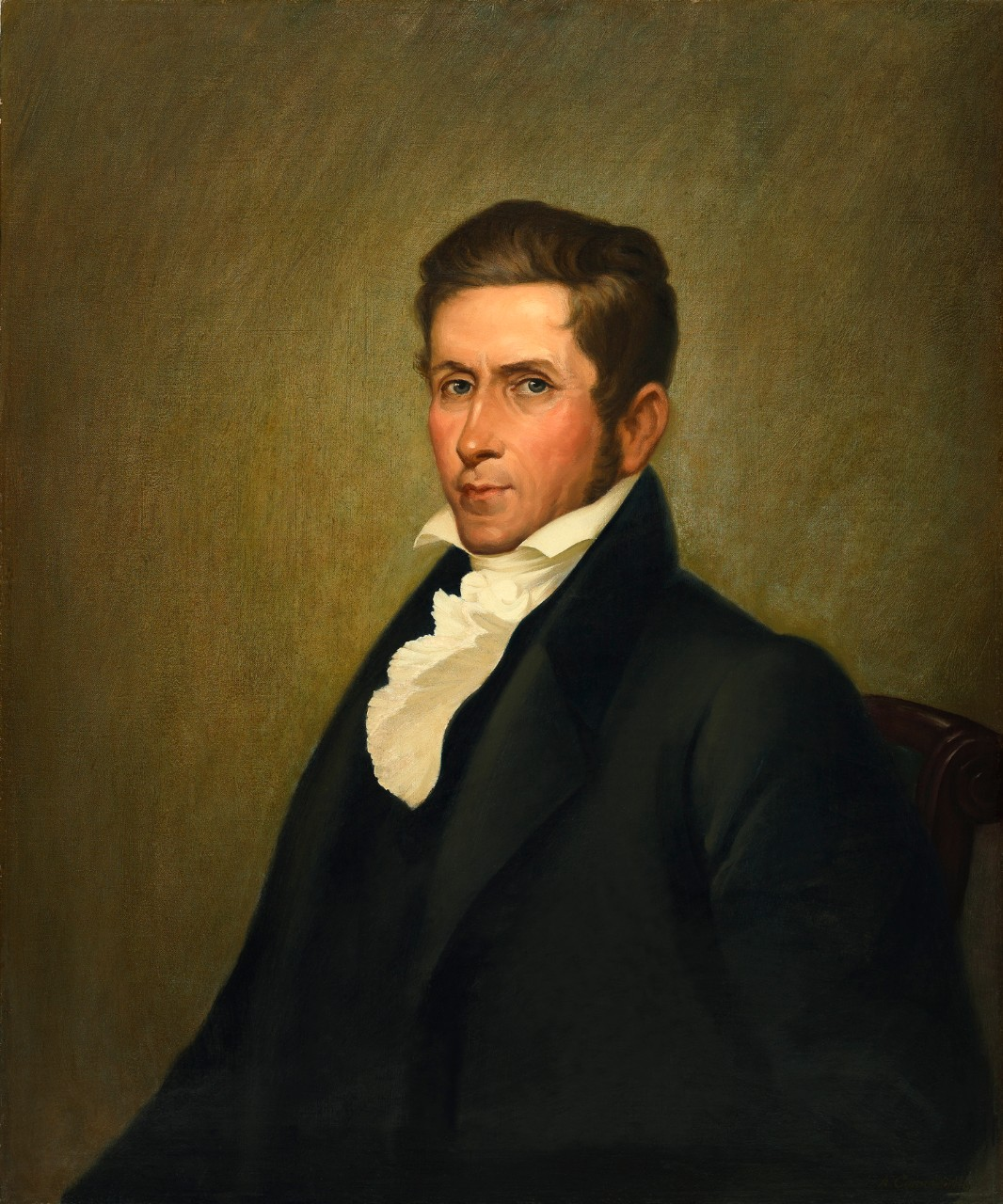 Portrait of Secretary of the Navy Mahlon Dickerson