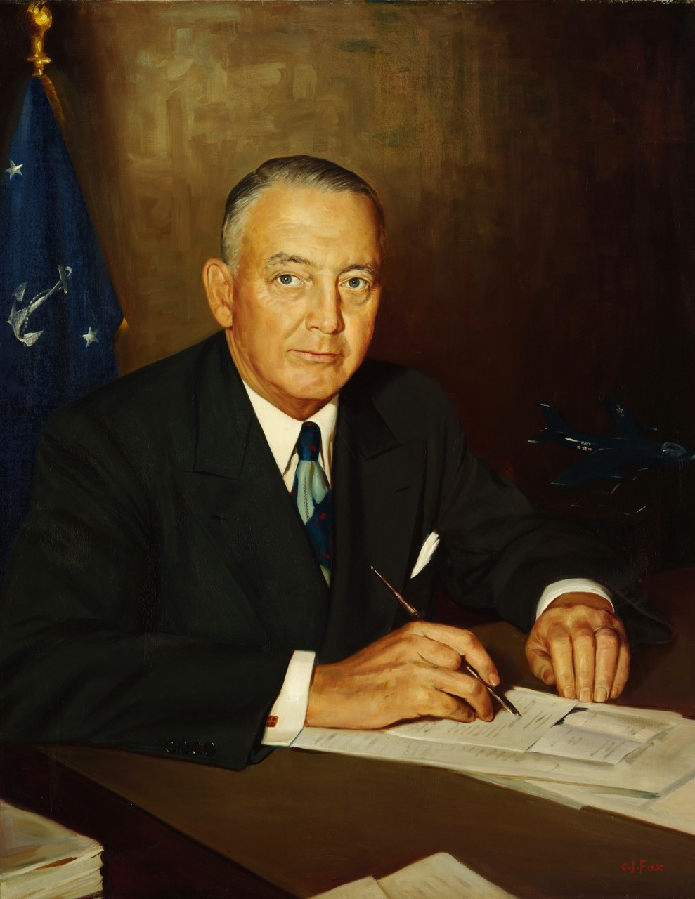 Portrait of Secretary of the Navy Dan Able Kimball
