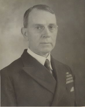 A 1934 photograph taken while Captain Knox served as officer in charge of the Office of Naval Records and of the Library of the Navy Department., Naval Historical Center, Photographic Section, #NH48461.