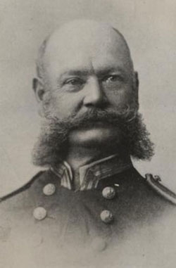 Image of Commander Benjamin P. Lamberton. Photographic Section, Naval History and Heritage Command. Photo #: NH59544.