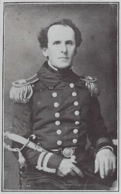Portrait of Captain William Francis Lynch. Photgraphic Section Naval Historical Center, #NH66679.