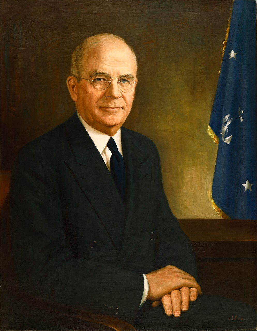 Portrait of Secretary of the Navy Francis Patrick Matthews