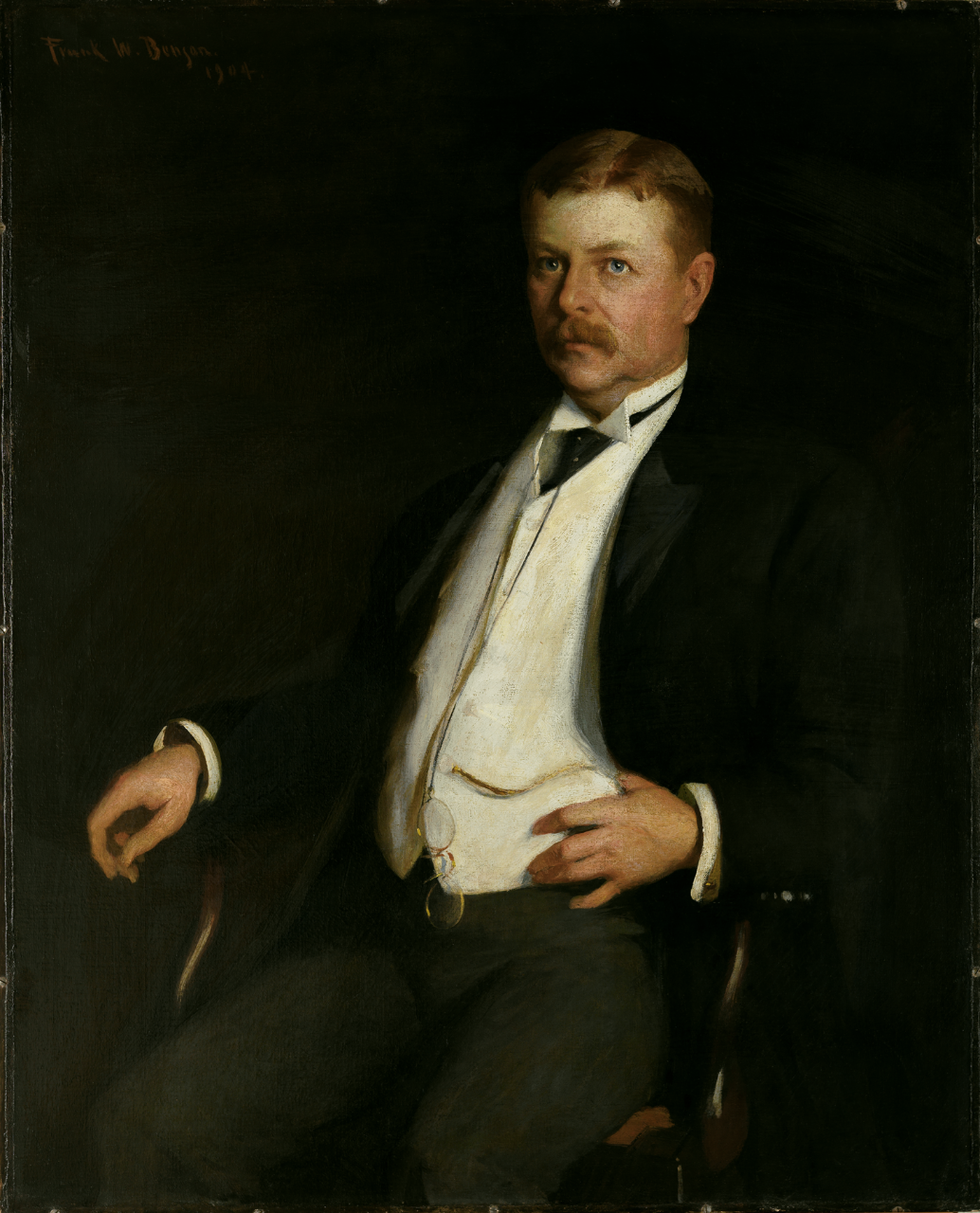 Portrait of Secretary of the Navy William Henry Moody
