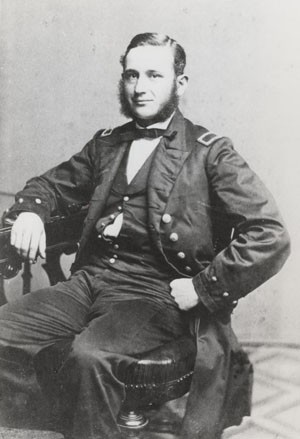 Image of Acting Master John W. Philip. An orginal photograph  taken in July 1862 while he was assigned to the Sloop USS Marion. Photographic Section, Naval History and Heritage Command. Photo #: NH47325.