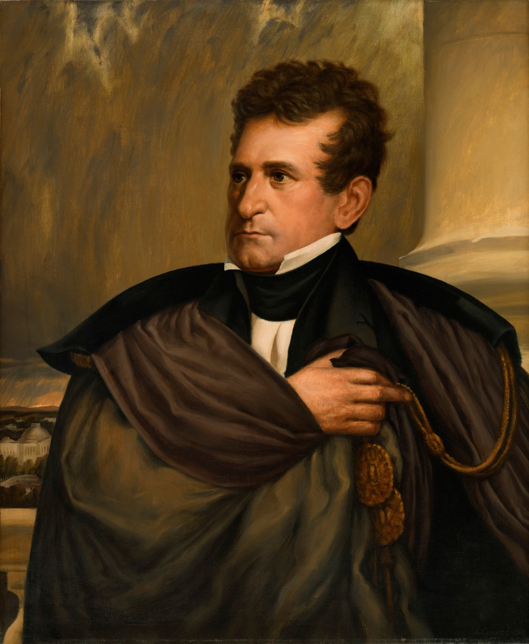 Portrait of Secretary of the Navy Samuel Lewis Southard