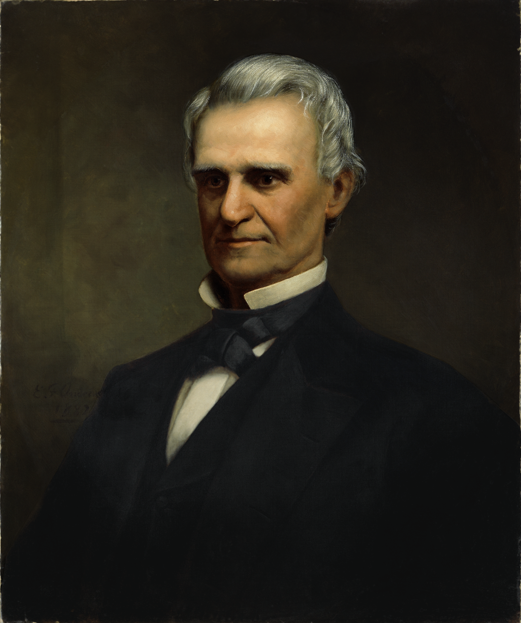 Portrait of Secretary of the Navy Richard Wigginton Thompson