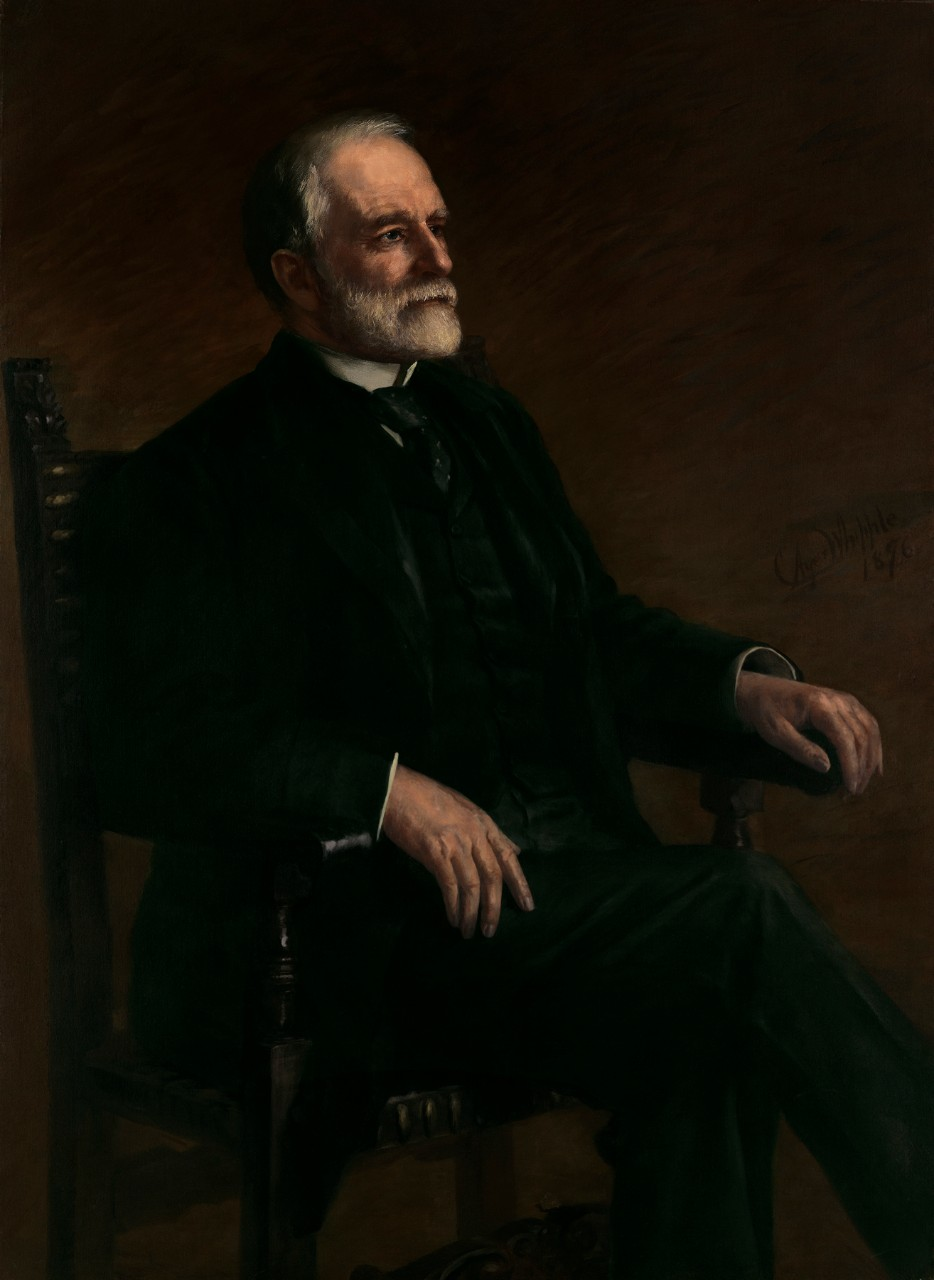 Portrait of Secretary of the Navy Benjamin Franklin Tracy