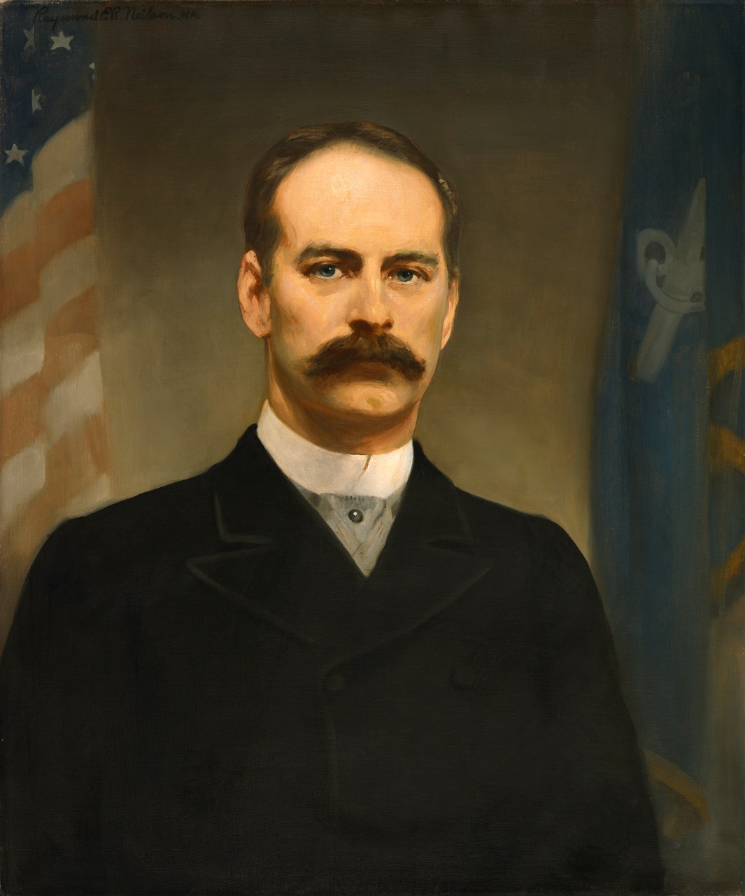 Portrait of Secretary of the Navy William Collins Whitney