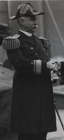 Cropped image of Rear Admiral Cameron Winslow. From a photograph in the Photographic Section, Naval History and Heritage Command. Photo #: NH83774. The entire photograph is produced at the end of this biography.