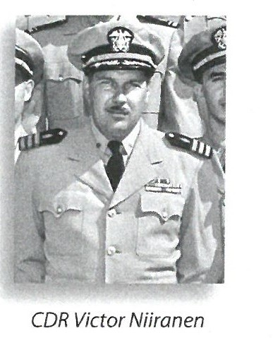 jpeg photo of CDR Victor Niiranen, dentist