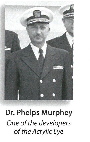 jpeg photo of Dr. Phelps Murphey, One of the developers of the Acrylic Eye