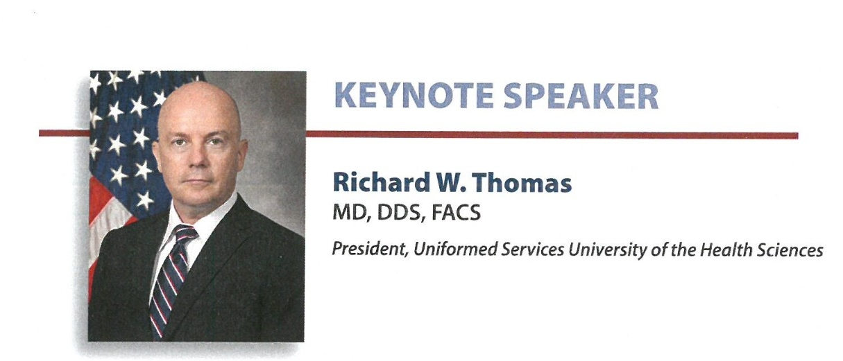 jpeg photo of Richard W. Thomas; President,  Uniformed Services University of the Health Sciences.