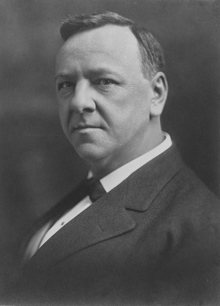 A picture of Josephus Daniels who was secretary of the navy during World War One.