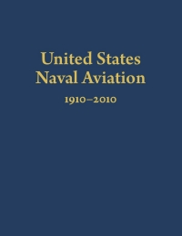 Cover of United States Naval Aviation, navy blue with gold lettering