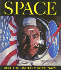 Cover of Space and the United States Navy