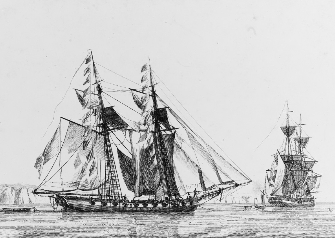 US Schooner ENTERPRISE, 1799-1823